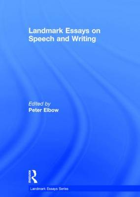 Landmark Essays on Speech and Writing - Landmark Essays Series (Hardback)
