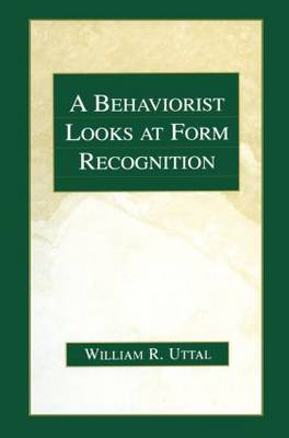 A Behaviorist Looks at Form Recognition (Paperback)