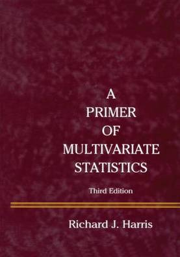 A Primer of Multivariate Statistics (Paperback)