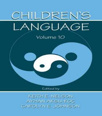 Children's Language: Volume 10: Developing Narrative and Discourse Competence (Paperback)