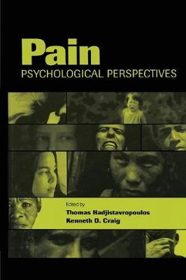 Pain: Psychological Perspectives (Paperback)
