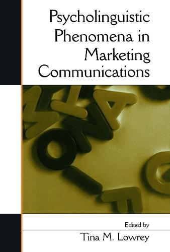 Psycholinguistic Phenomena in Marketing Communications (Paperback)
