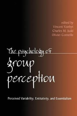The Psychology of Group Perception (Paperback)