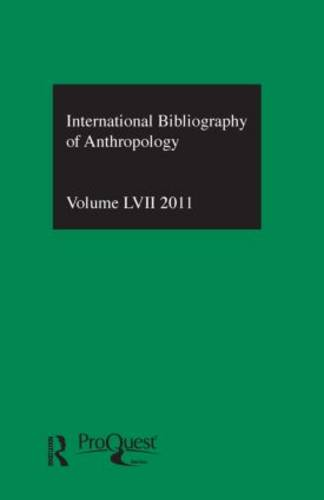 IBSS: Anthropology: Vol. 57: International Bibliography of the Social Sciences (Hardback)