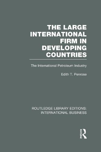 The Large International Firm - Routledge Library Editions: International Business (Hardback)