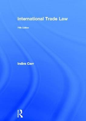 International Trade Law (Hardback)