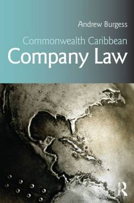 Commonwealth Caribbean Company Law - Commonwealth Caribbean Law (Paperback)