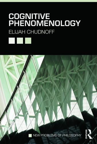 Cognitive Phenomenology - New Problems of Philosophy (Paperback)