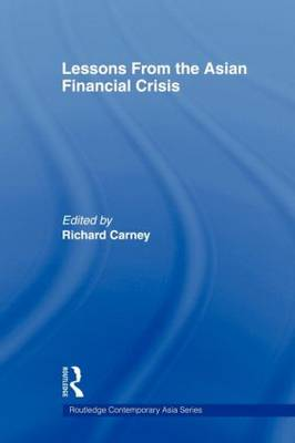 Lessons from the Asian Financial Crisis (Paperback)