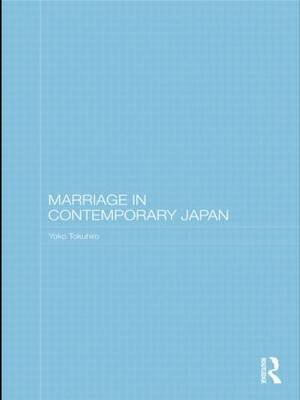 Marriage in Contemporary Japan (Paperback)