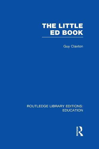 The Little Ed Book - Routledge Library Editions: Education (Hardback)
