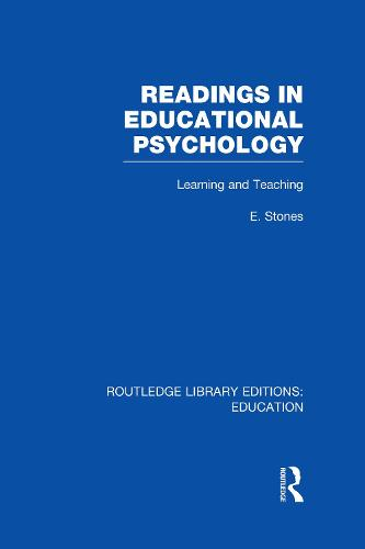 Readings in Educational Psychology - Routledge Library Editions: Education (Hardback)