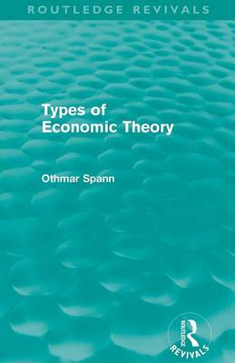 Types of Economic Theory (Paperback)