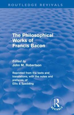 the philosophy career and ideologies of francis bacon Science & philosophy certainly the ideology launched by francis bacon in 1620 had a remarkably nobody moves forward by spending their career checking other.