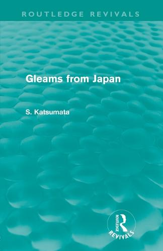 Gleams From Japan (Paperback)