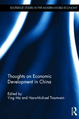 Thoughts on Economic Development in China (Hardback)