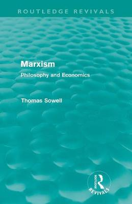 Marxism: Philosophy and Economics - Routledge Revivals (Paperback)