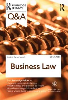 Q&A Business Law: 2012-2013 - Questions and Answers (Paperback)