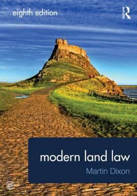 Modern Land Law (Paperback)