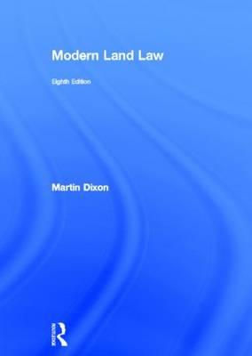 Modern Land Law (Hardback)