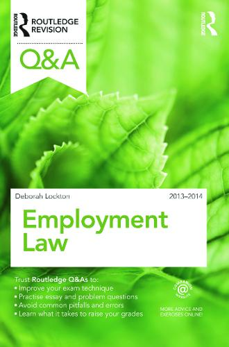 Q&A Employment Law 2013-2014 - Questions and Answers (Paperback)