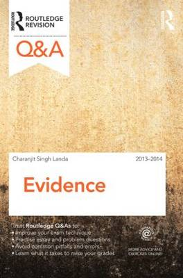 Q&A Evidence 2013-2014 - Questions and Answers (Paperback)