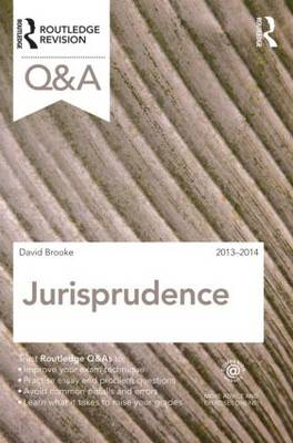 Q&A Jurisprudence 2013-2014 - Questions and Answers (Paperback)