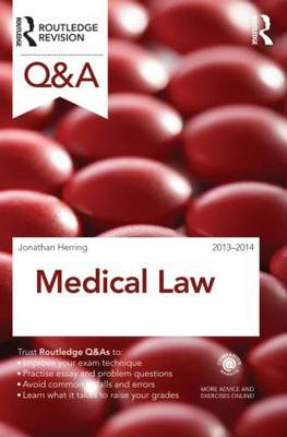 Q&A Medical Law 2013-2014 - Questions and Answers (Paperback)