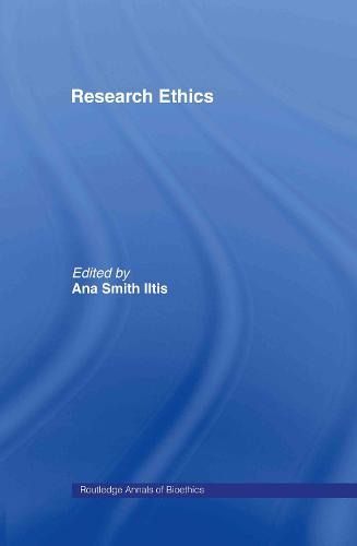 Research Ethics - Routledge Annals of Bioethics (Hardback)