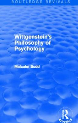 Wittgenstein's Philosophy of Psychology - Routledge Revivals (Paperback)