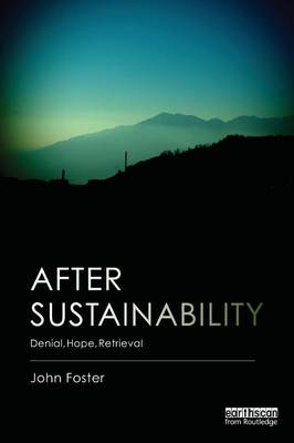 After Sustainability: Denial, Hope, Retrieval (Paperback)