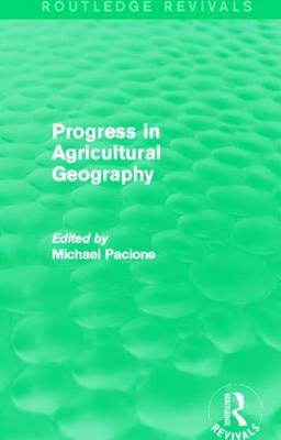 Progress in Agricultural Geography (Hardback)