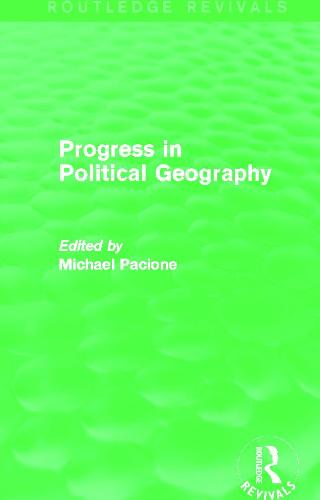 Progress in Political Geography (Paperback)