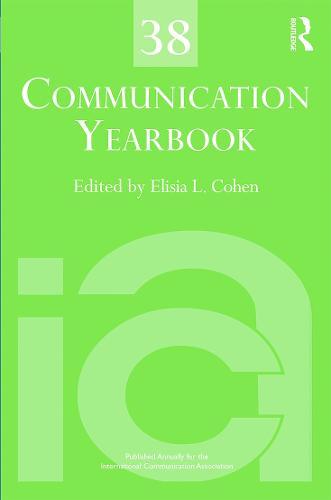 Communication Yearbook 38 (Hardback)