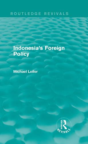 Indonesia's Foreign Policy (Hardback)