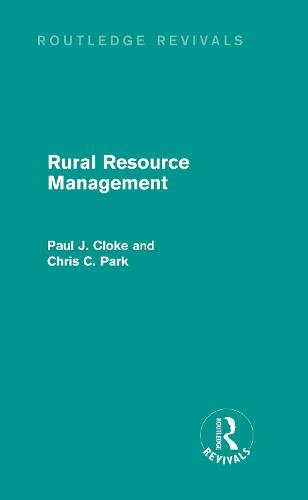 Rural Resource Management (Hardback)