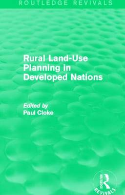 Rural Land-Use Planning in Developed Nations (Paperback)