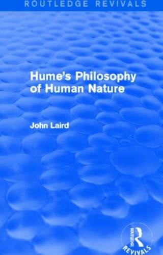 Hume's Philosophy of Human Nature (Hardback)