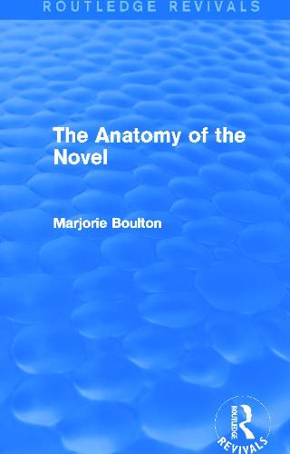 The Anatomy of the Novel (Hardback)