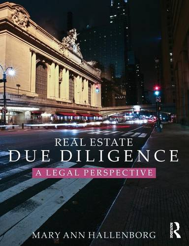 Real Estate Due Diligence: A legal perspective (Paperback)