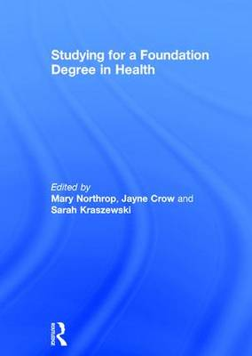 Studying for a Foundation Degree in Health (Hardback)