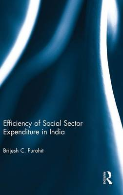 Efficiency of Social Sector Expenditure in India (Hardback)