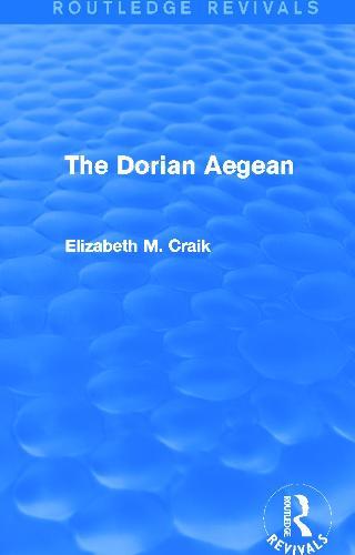 The Dorian Aegean - Routledge Revivals (Hardback)