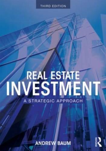 Real Estate Investment: A Strategic Approach (Paperback)