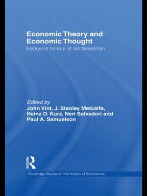 Economic Theory and Economic Thought: Essays in Honour of Ian Steedman (Paperback)