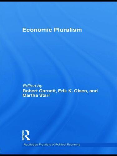 Economic Pluralism (Paperback)