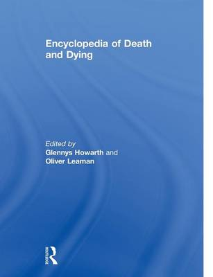 Encyclopedia of Death and Dying (Paperback)