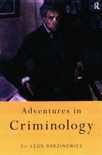 Adventures in Criminology (Paperback)