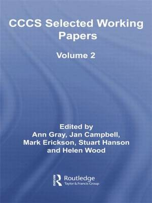 CCCS Selected Working Papers: Volume 2 (Paperback)