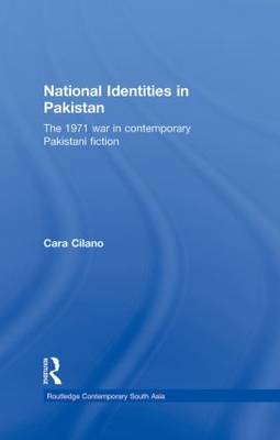 National Identities in Pakistan - Routledge Contemporary South Asia Series (Hardback)